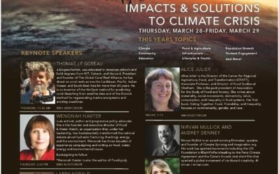 Dr Tom Goreau to talk on BioGeoTherapy: Reversing Climate Change by Regenerating Land and Ocean Ecosystems at Regenerating Ecological Systems Conference, April 28 2019