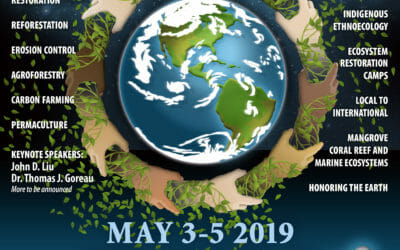 Dr Tom Goreau to talk on Global Earth Repair Conference, May 3-5 2019