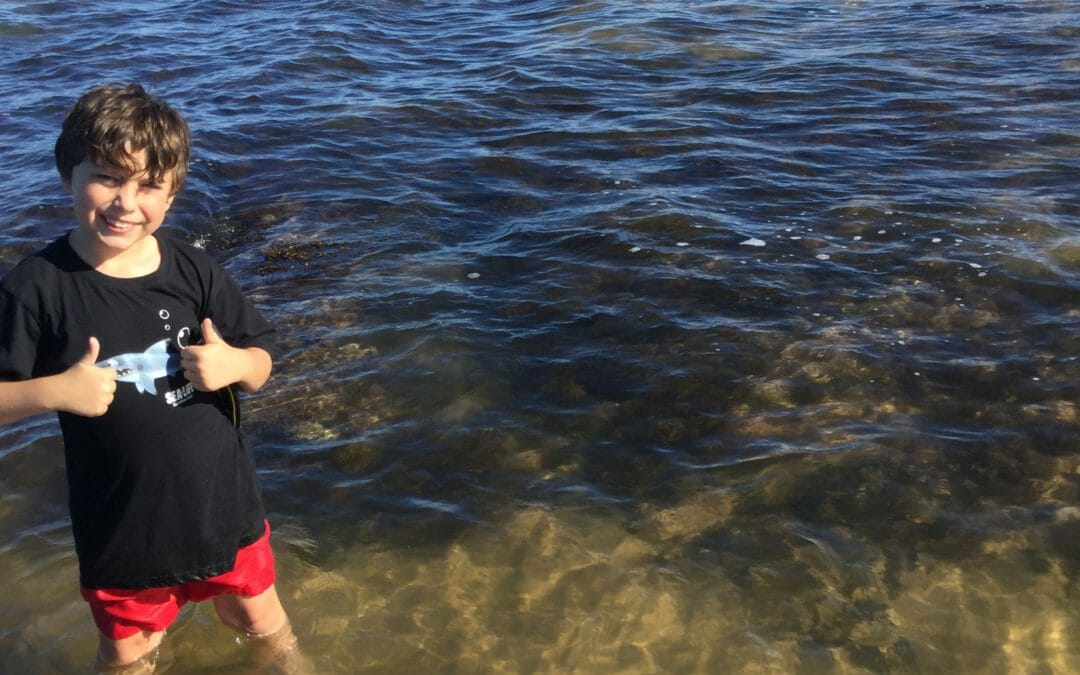 8 year old wins environmental award with coral reef protection film