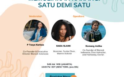 Corals Are Our Future Festival in Indonesia, June & July 2020