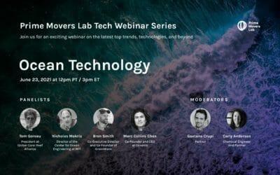 Prime Movers Lab Webinar – Ocean Technology