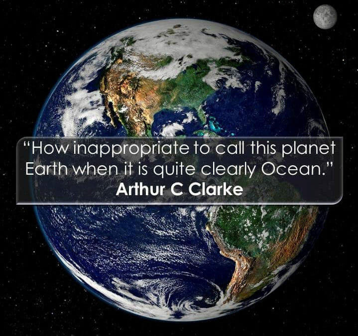 SUPPORT ARTHUR C. CLARKE'S VISION TO  REGENERATE PLANET OCEAN WITH BIOROCK!